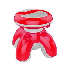 Máy Massage Mini Cầm Tay XF68 – Máy Massage Cầm Tay 3 Đầu – Máy Massage Mini Chân Tròn (Màu Ngẫu Nhiên)