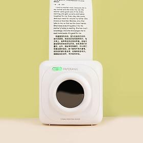 Phiên bản toàn cầu Máy in mini bỏ túi Xiaomi Youpin PAPERANG P1 BT4.0 Kết nối điện thoại Máy in nhiệt không dây Tương thích
