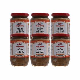6 Hũ Mắm Cá Linh Sông Hương Foods Hũ 400g