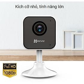 Camera IP Wifi Ezviz C1HC Full HD 1080P Góc Nhìn Siêu Rộng Đàm Thoại 2 Chiều Kèm Thẻ 32G - Hàng Chính Hãng