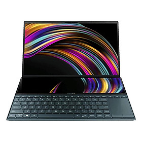 "Laptop ASUS ZenBook Pro Duo UX581GV-H2029T (Core i7-9750H/ 32GB DDR4 2666MHz/ 1TB SSD M.2 PCIE/ RTX 2060 6GB/ 15.6"" OLED 4K Touch, 100% DCI-P3/ Win10) - Hàng Chính Hãng"