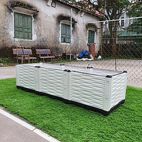 CHẬU GHÉP THÔNG MINH (150x50x39cm): Phù hợp mọi loại cây trồng, diện tích và không gian - Sang trọng - Hiệu quả - Độ bền cao - Nhựa PP an toàn.