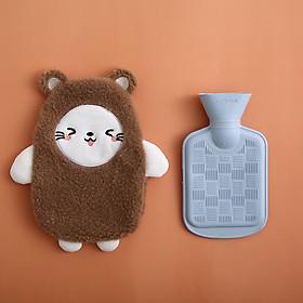 Túi chườm nóng đau bụng kinh nguyệt dành cho nữ, chườm nóng lạnh y tế, túi sưởi ấm bụng nhiều mẫu size lớn 500ml