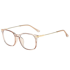 LG8815 Blue Light Blocking Glasses Frame Light Plastic&Metal Eyeglasses Frame for Man and Woman Anti Glare Filter