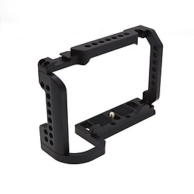 Metal Form-fitted Aluminum Cage with Cold Shoe for Nikon Z6 /Nikon Z7