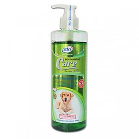 Sữa tắm diệt ve ghẻ rận tai cho chó - Care Premium 450ml