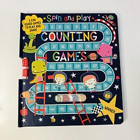 Spin and Play: Counting Games - Quay Và Chơi Đếm Số