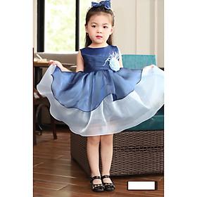 Váy đầm công chúa dự tiệc cho bé gái DBG048 từ 1 2 3 4 5 6 7 8 9 10 tuổi nặng 8 đến 10 15 20 25 30 33 kg