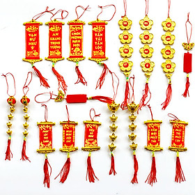 Combo 18 Dây Treo Tài Lộc Trang Trí Tết , Cây Mai Nhà Cửa Đón Tết