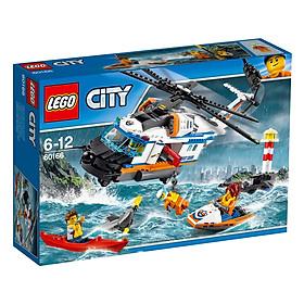 Trực Thăng Cứu Hộ - Biển Lego 60166 (415 Mảnh Ghép)