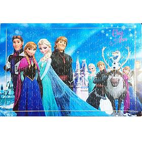 Tranh Ghép Gỗ Rèn Tư Duy Chủ Đề Elsa