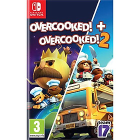 Băng game Nintendo Switch Overcooked special edition + Overcooked 2---Hàng nhập khẩu