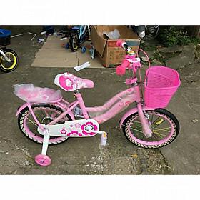 Xe đạp mini cho bé gái bánh 12/14/16/18 (cho bé 3-4t, 4-5t, 5-7t, 6-9t)