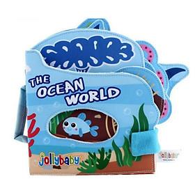 Đồ chơi - Cuốn sách vải  Khám phá thế giới Đại Dương