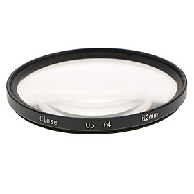 +4 62mm  Close Up Filter for   Pentax Camera Lens Accessory