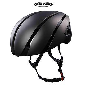 Nón bảo hiểm xe đạp thể thao BALDER LK1 B86 cao cấp XÁM NHÁM