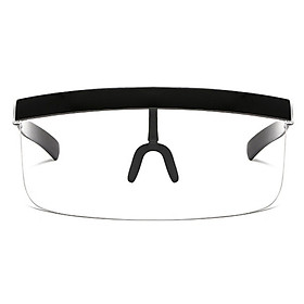 Face Shield Visor Sunglasses Oversize Safety Face Cover Half Face Protective Visor Sun Protection Goggles Large Mirror