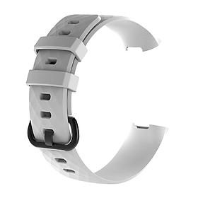Dây Silicone Thay Thế Cho Vòng Tay Thông Minh Fitbit Charge 3