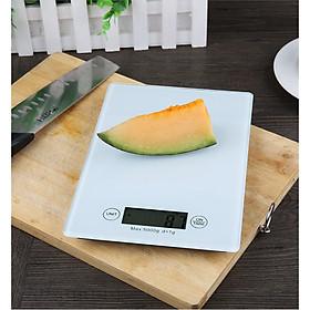 Cân tiểu ly điện tử 5kg mặt kính phím cảm ứng - KEA