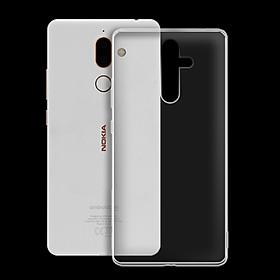 Ốp lưng cho Nokia 7 plus - 01172 - Ốp dẻo trong - Hàng Chính Hãng