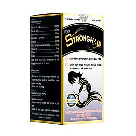 Combo 4 Thực Phẩm Chức Năng Chăm sóc tóc và móng Viên Strong Hair Học Viện Quân Y (30 Viên/hộp)