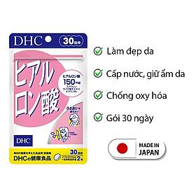 Viên uống cấp nước DHC Nhật Bản Hyaluronic Acid thực phẩm chức năng cấp ẩm, làm đẹp và bảo vệ da, chống oxy hóa, củng cố sức khỏe cho cơ thể JN-DHC-HA30