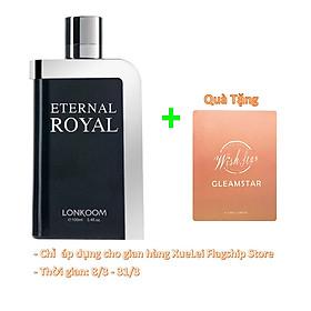 Nước Hoa nam  LONKOOM PARFUM Eternal Royal Perfume Oriental-Aromatic Fragrance Matural EDT 100ml - Hương thơm phương Đông