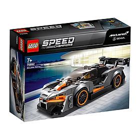 Bộ xếp hình LEGO chính hãng - Siêu xe Super Care Dodge Challenger SRT Demon and 1970 Dodge Warhorse R / T Racer (dành cho trẻ từ 7 tuổi trở lên - cả bé trai/gái)