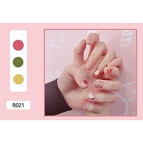 Bộ 24 móng tay giả nail thơi trang (như hình-R-021)