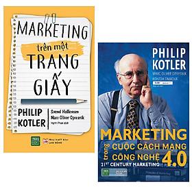 Combo Marketing Trên Một Trang Giấy + Marketing Trong Cuộc Cách Mạng Công Nghệ 4.0