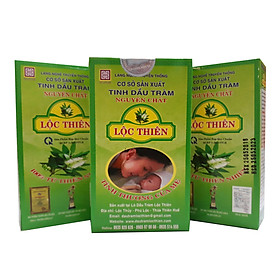 ComBo 3 Lọ Dầu Tràm Lộc Thiên 50 ml, Mã SP 229
