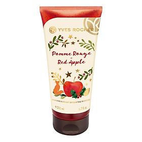 Gel Tắm Làm Sạch Tế Bào Chết Yves Rocher Pomme Rouge Red Apple Exfoliating Shower Gel 200ml