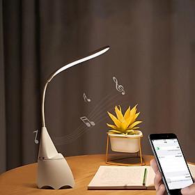 Đèn Bàn Học, Đèn Đọc Sách, Đèn Học Phát Nhạc 3 Chế Độ Sáng Bảo Vệ Mắt Chống Cận Thị kiêm Loa Bluetooth Cao Cấp