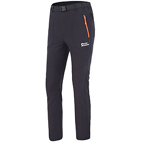 Elmont ALPINT MOUNTAIN Men's outdoor climbing pants pants pants pants pants breathable moisture permeability quick-drying wear-resistant 640-221 charcoal gray XL