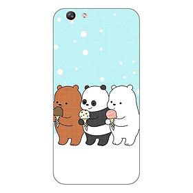 Hình đại diện sản phẩm Ốp lưng dẻo cho Oppo F1s _Panda 03