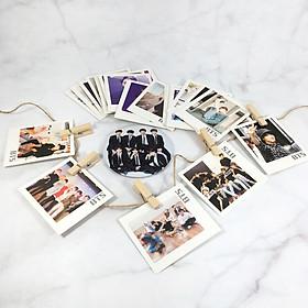 Combo Gương - Lomo card Bts [ Giao mẫu ngẫu nhiên ]