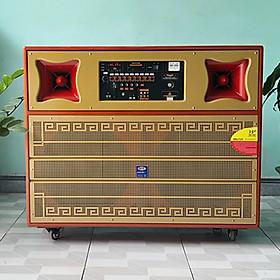 Loa Karaoke Di Đông JAGUMAX Pro-1000X Công Suất 1000W (Chính Hãng Sản Xuất Tại Việt Nam)
