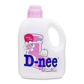 Nước giặt xả quần áo D-nee Honey Star (Hồng) 960ml