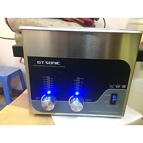 Máy rửa dùng sóng siêu âm GTsonic thể tích 3 lít để làm sạch nhanh trên mọi bề mặt vật liệu - Hàng chính hãng