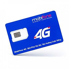 SIM 4G Mobifone VPB51 Max Băng Thông Không Giới Hạn Số Lưu Lượng Tốc Độ Cao  - Theo Tháng