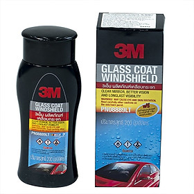 Phủ nano kính xe ô tô 3M 200Ml (Tặng kèm khăn + găng tay Nilong)