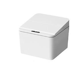Thùng rác Mini để bàn cảm biến thông minh có nắp đậy