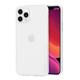 Ốp lưng nhám siêu mỏng 0.3mm cho iPhone 11 Pro Max (6.5 inch) hiệu Memumi có gờ bảo vệ camera - Hàng nhập khẩu