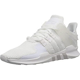 adidas Originals Women's EQT Support ADV Running Shoe, White/White/Grey, 7 M US