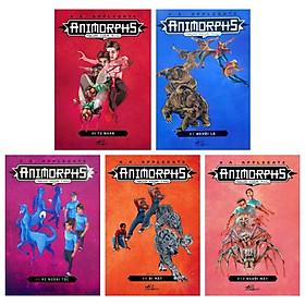 [Download Sách] Combo Animorphs - Người Hóa Thú: Tập 6 Đến Tập 10 ( Bộ 5 Tập)