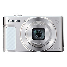 Máy Ảnh Canon PowerShot SX620 HS (Trắng) - Hàng Nhập Khẩu