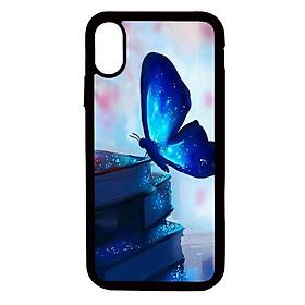 Ốp lưng cho điện thoại Iphone Xs Max Bướm Xanh - Hàng chính hãng