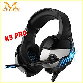 Tai nghe chụp tai headphone gaming chơi game dành cho các game thủ Phiên bản K5 Pro mã A10