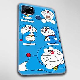Ốp lưng dành cho Realme C11, Realme C12, Realme C15, Realme C17 mẫu Doraemon ham ăn