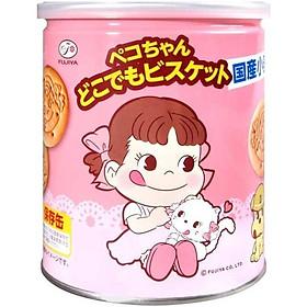 Lọ bánh quy búp bê Peko Fujiya Nhật Bản 100g